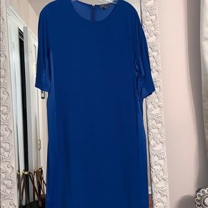 Vince Royal Blue Loose Dress
